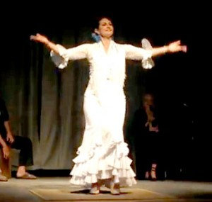 Sara Maria- flamenco instructor and performer