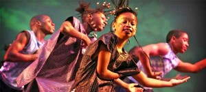 West African dance at Footloose